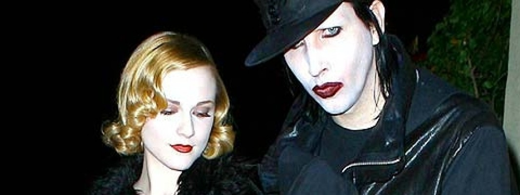 Fine dell'amore dark tra Evan Rachel Wood e Marilyn Manson