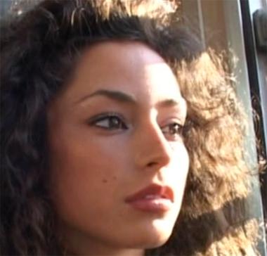 Raffaella Fico si mostra su Matrix