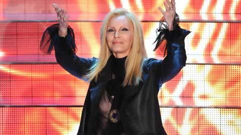 """Patty Pravo, nude look a Sanremo 2009, rivela, """"Amo canne e sesso!!!"""""""