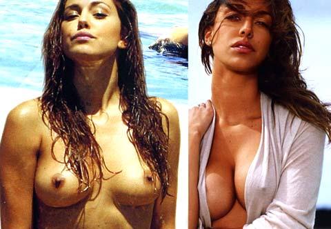 """Una Belen in topless prima del """"ritocchino"""" al seno!!!"""