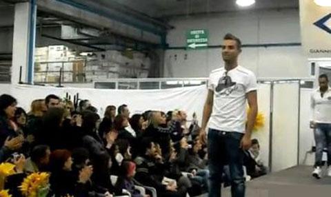 Marco Carta, modello per Jonk 46, il video