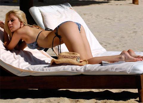 Heidi Montag, la biondina dalle super tette, video e scatti