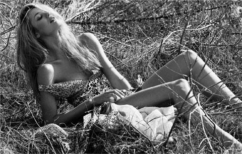 Candice Swanepoel, madrina di Sudafrica 2010
