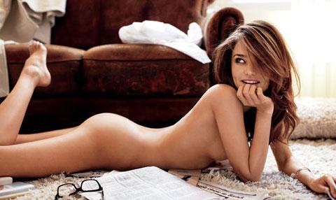 Miranda Kerr è nuda su I-d magazine
